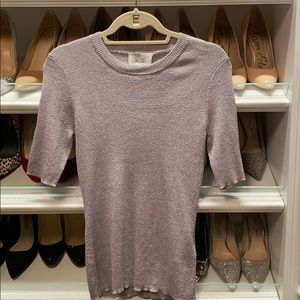 Purple shimmer 3/4 sleeve 3.1 Phillip Lim top